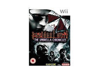 Resident evil The Umbrella Chronicles (WII)