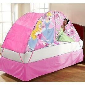 Princess tent bed