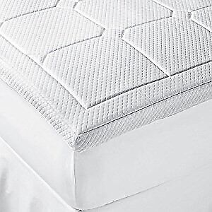 Therapedic® Luxury Quilted Deluxe 3-Inch Memory Foam Bed Topper
