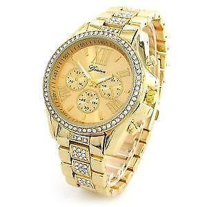 Women's Geneva Watch Gold