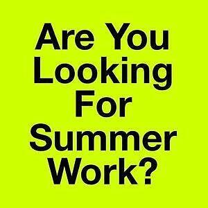 Summer in Glasgow | Full & Part Time Jobs Available - Gumtree