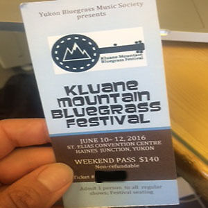 Kluane Mountain Bluegrass Ticket