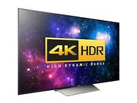 "Sony TV 4K Bravia Android Smart TV 65"" KD65XD8599"