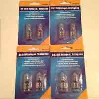NEW!! TWO Packages of G9 Halogen 20W  Light Bulbs