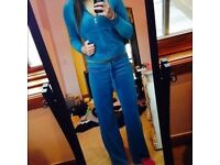 Blue juicy couture tracksuit