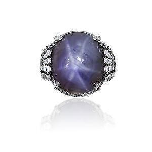 Star sapphire ring ebay antique star sapphire ring aloadofball Choice Image