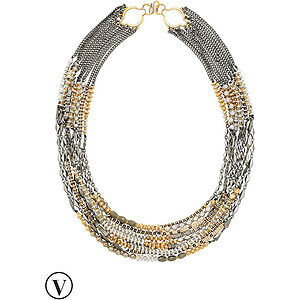 Stella and dot relic statement necklace