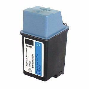 Hp 29 (51629A) Ink Cartridge Black  Remanufactured