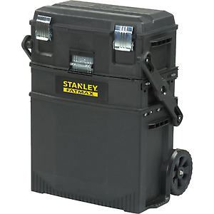 Husky two draw cart/ Stanley Fatmax tool box