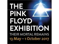 Pink Floyd: Their Mortal Remains Exhibition - 1 x ticket for 17/06/17