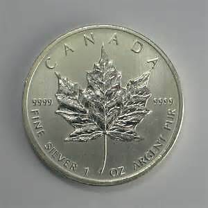 Silver Bullion Silver Maples Canadian mint