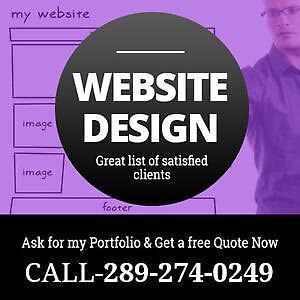 Quality Website Design -Wordpress Web Development -Ecommerce-SEO Peterborough Peterborough Area image 1
