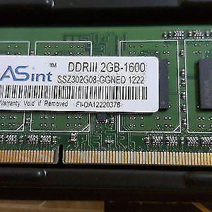 DDR3 et CPU