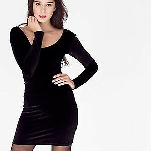 American Apparel Velvet Dress