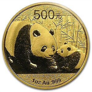 1 ounce chinese gold panda gold coin