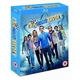Big Bang Theory season 1-6