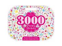 new Girls sticker book with 3000 sticker's