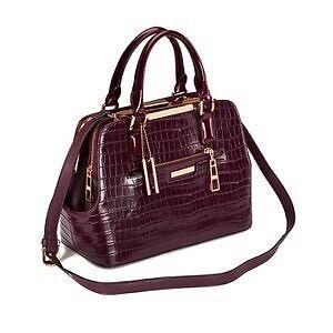 Dune Domino Berry Multi Compartment Handbag Rrp 79 99 Bargain