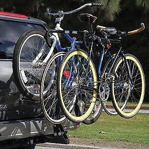 ~Brand New~ four bike rack carrier 4 bike hitch mounted warranty
