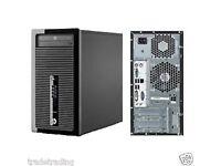 HP Prodesk 400 G2 Tower Intel i5-4130 3.4GHz 8GB RAM 500GB hddWin 7 F