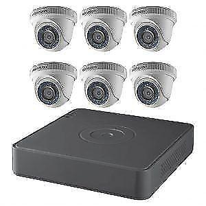 HIKVISION CCTV IPTV 1080P 4MP DOME SECURITY CAMERA KIT 4 CHANNEL NVR $949.99, 6 CAMER KIT 8 CHANNEL NVR $1249.99