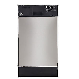 Lave-vaisselle GE encastré, cuve en acier inoxydable,18 po, Stainless (SKU: 1424)