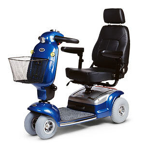 very maneuverable mobility scooter