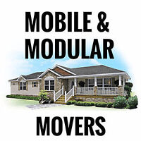 Mobile/Modular home movers
