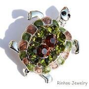 Turtle Brooch