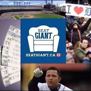 DETROIT TIGERS TICKETS FROM $7 CAD! LOWERS FROM $9!!!