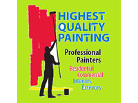 Professional painting,decorating to a high standard MANY YEARS experience! ALL LONDON!