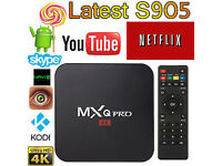 MXQ PRO 4K 2016 S905 4K UHD ANDROID TV BOX 5.1 FULLY LOADED READY TO USE *WiFi and Ethernet