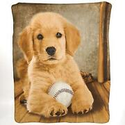 Golden Retriever Blanket