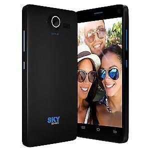 "SKY 5.0W 5"" UNLOCKED DUAL SIM SMARTPHONE - BLACK"