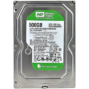 Western Digital 500GB Green 3.5 internal drive