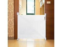 Safetots Advanced Retractable Safety Gate White