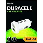 Duracell autolader 2x USB DR5015W wit