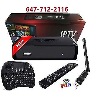 IPTv Subscription and MAG254 wireless box for $120 - 6477122116