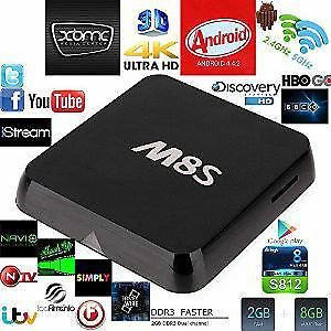 M8S Android Box S812Quad Core Android Smart TV 2GB+8GB XBMC KODi