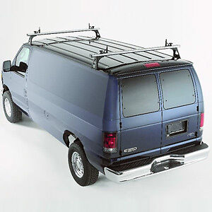 NEW TracRac Double Load Bars Van Roof Rack fits Ford E250 and +