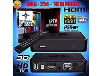 ★MAG HD IPTV BOX BETTER THAN ANY SAT BOX★NO DISH NEEDED★12 MTHS★SMART TV/OPENBOX - BRAND NEW