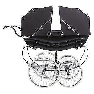 Vintage Baby Carriage Wheels