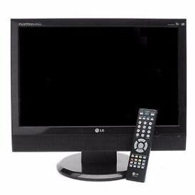 "LG M198WA - 19"" Widescreen TV - Black"