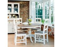Leekes Casa Cotswald dining table and chairs