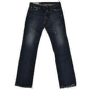 Abercrombie & Fitch DESTROY AMES - Short en jean - ripped dark wash zkqfNMp6