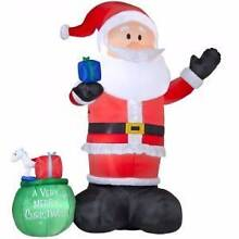 Inflatable Santas invited to a party! Newport Pittwater Area Preview