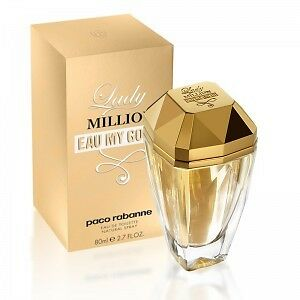 Lady Million Eau my Gold by Paco Rabanne 80ml for Women