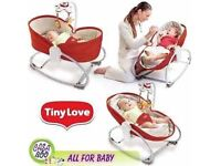 Baby chair/rocker/napper tiny love