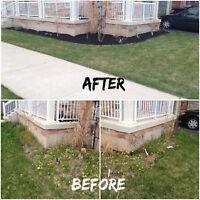 Re-Sodding,Interlocking,Crack Repair,And Cement