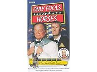 Only Fools And Horses If They Could See Us Now Vhs Video